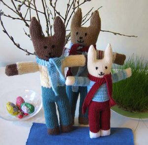 Apupupu (Finnish aid bunnies) (image: Ravelry)