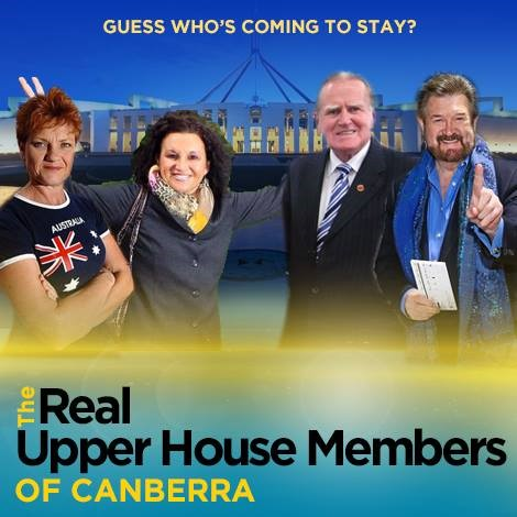 Real Upper House Members of Canberra (image: The Skewer)