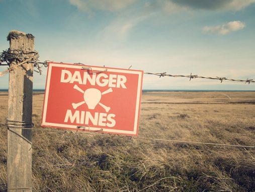 Australia's demining disaster