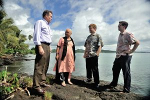 USAID helps fight climate change in Samoa, Feb 2013 (Flickr/US Embassy New Zealand, CC BY-ND 2.0)