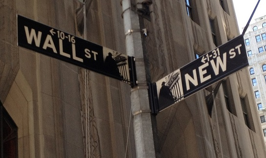 Wall Street New Street (Flickr/Sue Waters CC BY-SA 2.0)