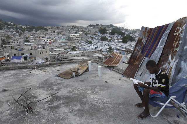 Doing homework in Delmas 32, Haiti (Flickr/World Bank/Dominic Chavez CC BY-NC-ND 2.0)