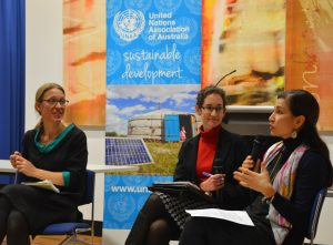 from L: Anna-Karin Jatfors, Janelle Weissman, Melissa Alvarado (image: UN Women Asia and the Pacific)
