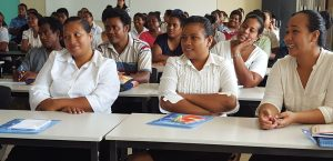 iKiribati workers at PT&I-MULPHA workshops (image: Pacific Islands Trade & Invest)