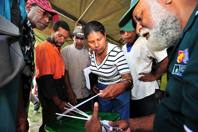 PNG 2012 elections (Flickr/DFAT/Defence CC BY 2.0)