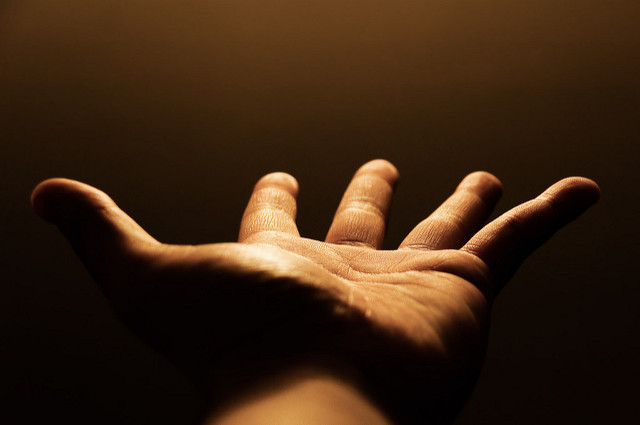 Reach out (Flickr/David Ip CC BY-NC-ND 2.0)