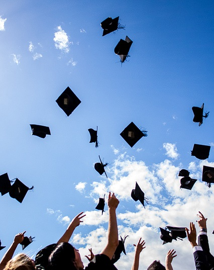 Graduation (Flickr/Mark Ramsay CC BY 2.0)