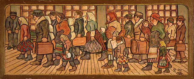 'Immigrants' by Peter Wedin (Flickr/Minnesota Historical Society CC BY-SA 2.0)