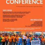 PNG conference on urban safety: abstracts invited