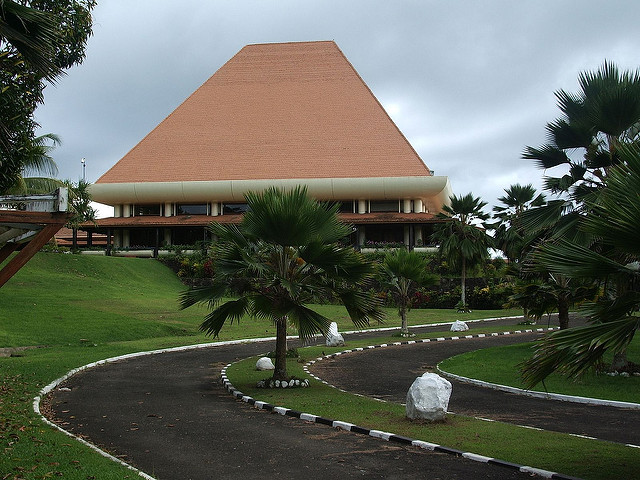 Fiji Parliament House, Suva (Flickr/Jared Wiltshire CC BY 2.0)