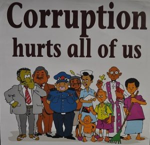 PNG Anti-Corruption Poster (Flickr/Raymond June CC BY-ND 2.0)