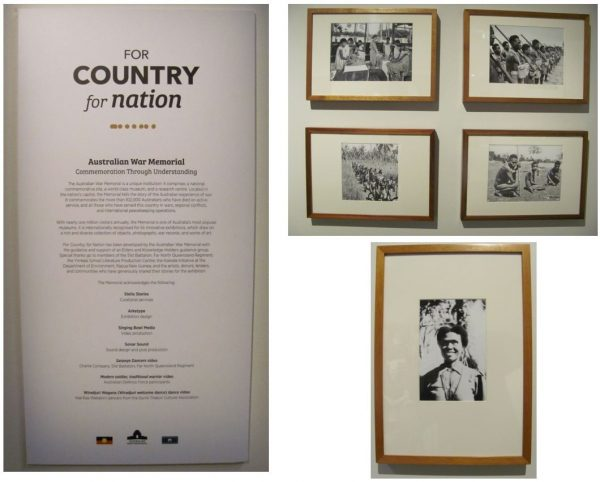 For Country, For Nation exhibition (Australian War Memorial)