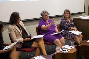 Discussion of the World Development Report at the 2017 Australasian Aid Conference.
