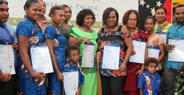 APTC graduates, Port Moresby (Jacqueline Smart, AusAID/DFAT/Flickr CC BY 2.0)