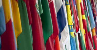 Flags, 2013 World Bank IMF Annual Meetings (World Bank/Flickr CC BY-NC-ND 2.0)