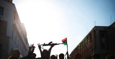 "Libya Celebrates ""Tripolitanian Republic"" Declared against Colonial Rule (Flickr/UN Photo/Iason Foounten CC BY NC ND 2.0)"