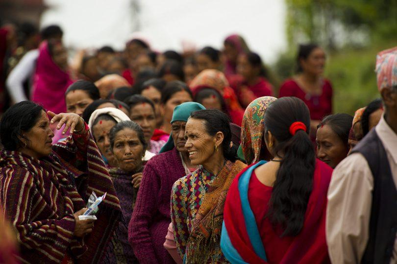 Nau Danda Health Post, Kaski District, Nepal (PACAF/Flickr CC BY 2.0)