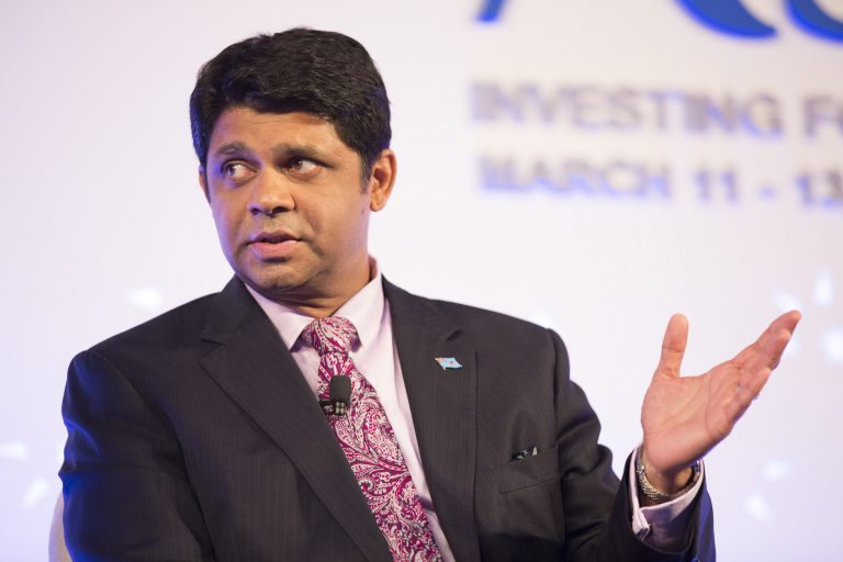 Aiyaz Sayed-Khaiyum, Attorney General and Minister of Economy, Fiji (IMF/Flickr CC BY-NC-ND 2.0)