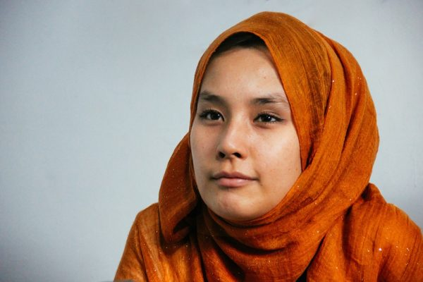 Madiha Ali, a teacher at the Refugee Learning Centre in West Java, Indonesia (image: Thomas Brown)