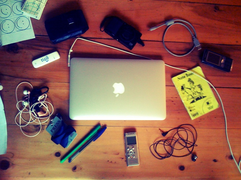 Mobile journalism kit (Graham Holliday/Flickr CC BY-NC 2.0)