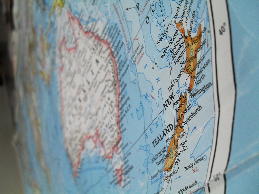 New Zealand map (Auckgirl/Flickr CC BY-NC-ND 2.0)