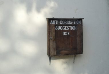 Anti-corruption suggestion box, Mombasa, Kenya (Marcel Oosterwijk/Flickr CC BY-SA 2.0)