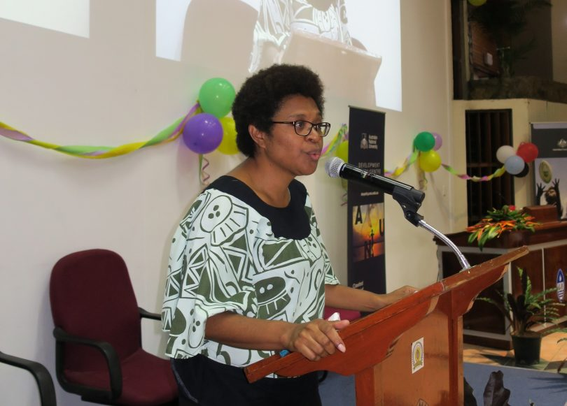Fiona Hukula at 2017 PNG Update