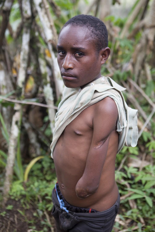 Robert Lepo, Southern Highlands Province (Jesse Boylan/ICRC)