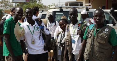 Oxfam staff withdrawn from Malakal violence, South Sudan, 2014 (Grace Cahill/Oxfam/Flickr CC BY-NC-ND 2.0)