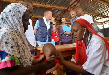 MSF outpatient nutrition centre, Tibiri, Niger (Hama Boureima/EC/ECHO/Flickr CC BY-NC-ND 2.0)