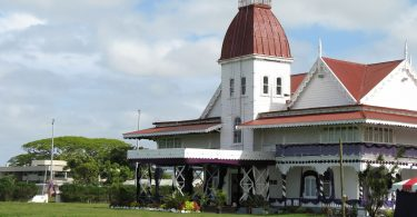 Royal palace, Nuku'alofa, Tonga (Antoine Hubert/Flickr CC BY-ND 2.0)