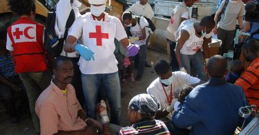 Red Cross medical center, Haiti Earthquake response (Eric Quintero/IFRC/Flicker CC BY-NC-ND 2.0)