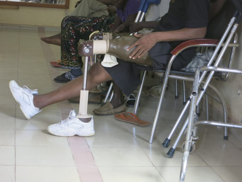 National Orthopedic Equipment Centre, Mali (Taoffic Toure/International Committee of the Red Cross)