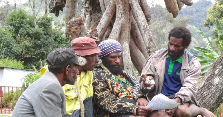 Workshop on advocacy against sorcery accusation related violence, Enga Province, PNG (Philip Gibbs, Divine Word University)