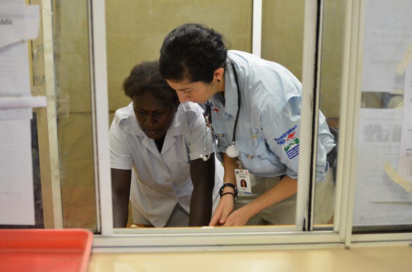 Dengue Taskforce from Australia in Solomon Islands (DFAT/Flickr/CC BY 2.0)