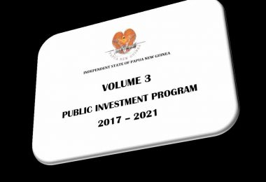 Edited screenshot of PNG National PIP budget from GoPNG Treasury website