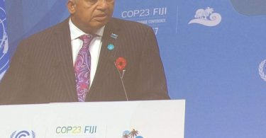 Opening of the COP23 by Prime Minister Frank Bainimarama of Fiji (Climate Alliance Org/Flickr/CC BY-NC 2.0)