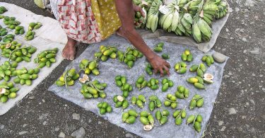 Buai (betel nut) vendor, Alotau market (Jim/Flickr/CC BY-NC-ND 2.0)
