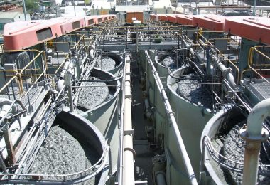 Ore processing at the Impala platinum mine and processing plant at Rustenberg, South Africa (BBC World Service/Flickr/CC BY-NC 2.0)