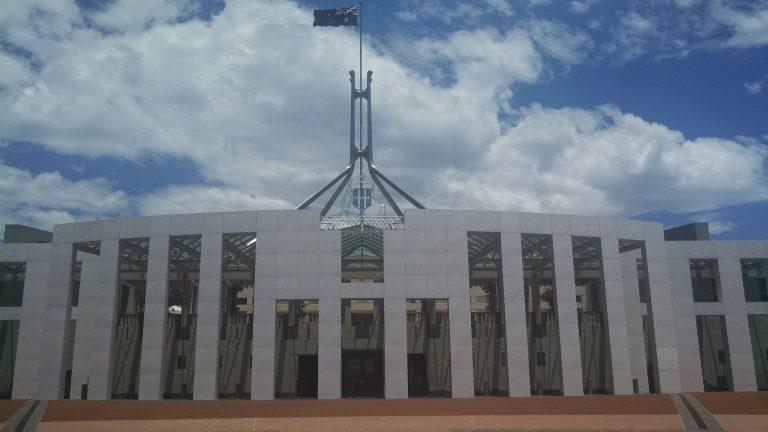 Parliament House, Canberra, Australia (Sarah J/Flickr/CC BY-ND 2.0)