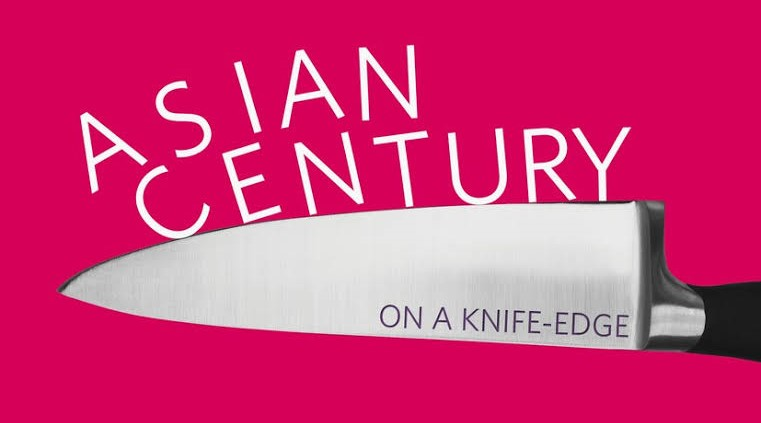 Cover of 'Asian century... on a knife-edge' by John West