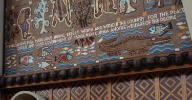 PNG National Parliament, 2013 (Credit: Michelle Rooney)