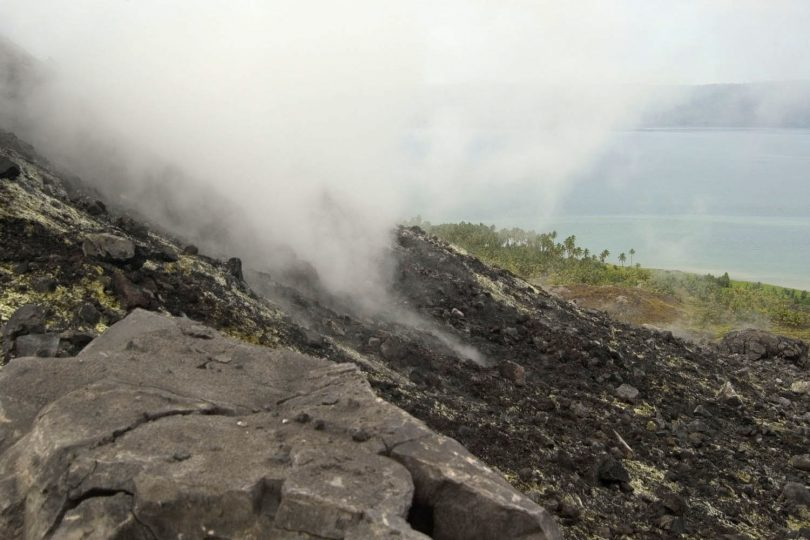 On the side of a volcano in Rabaul, PNG (Nomad Tales/Flickr/CC BY-NC-ND 2.0)