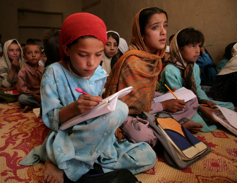 A primary school in Bene Warsak Refugee Camp, Afghanistan (Save the Children/Flickr/CC BY-NC-ND 2.0)