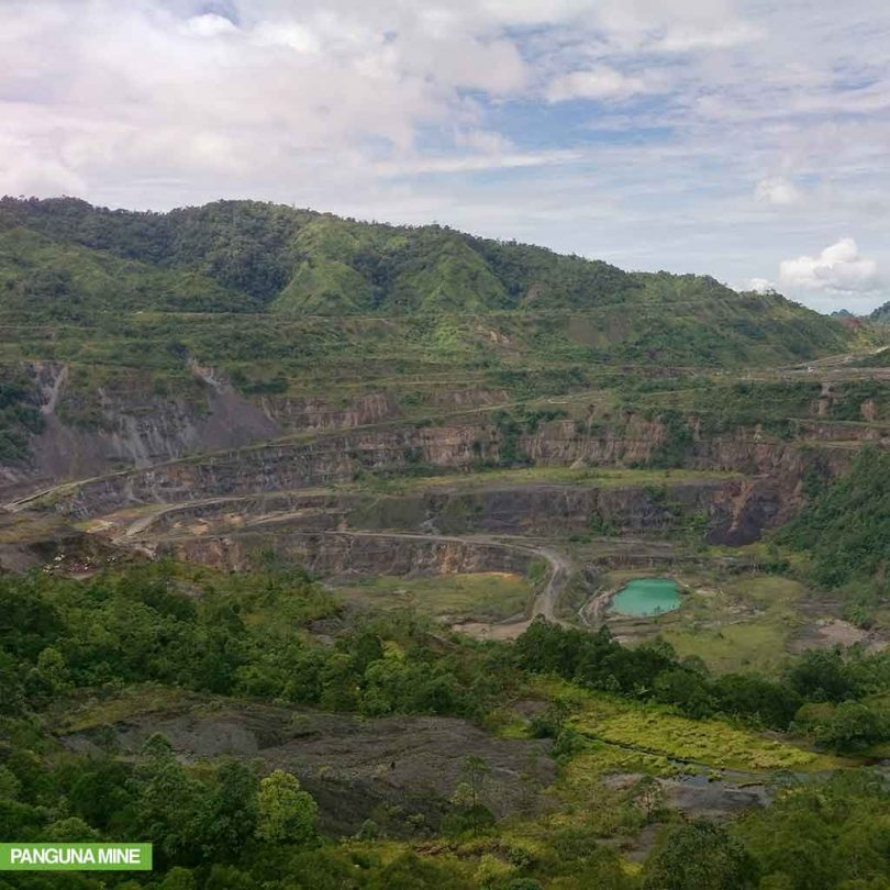 Panguna Mine (Credit: Bougainville Copper Ltd)