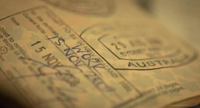 Visas for Australia and New Zealand (Jeff Nelson/Flickr/CC BY-SA 2.0)