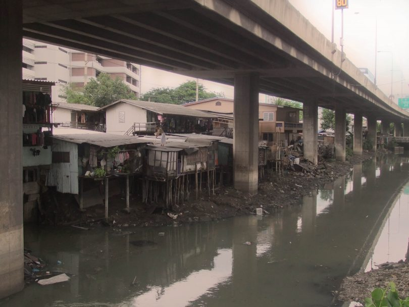 Khlong Toey Slum