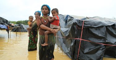 Cox's Bazaar refugee settlement, Bangladesh (Credit: World Vision)