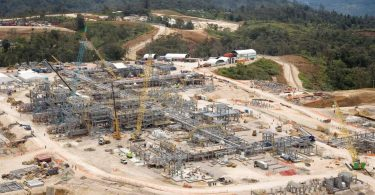 ExxonMobil LNG plant in Southern Highlands (Credit: ExxonMobil PNG)