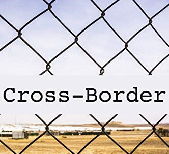 Part of the cover of 'Cross-Border' by J.